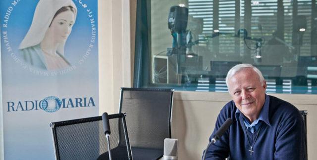 Ο Πατήρ Livio Fanzaga (πηγή: radiomaria.it)