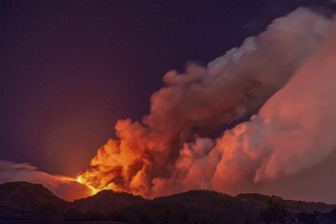 Ηφαιστειακή τέφρα από την Αίτνα στα Αντικύθηρα και στην Κύπρο