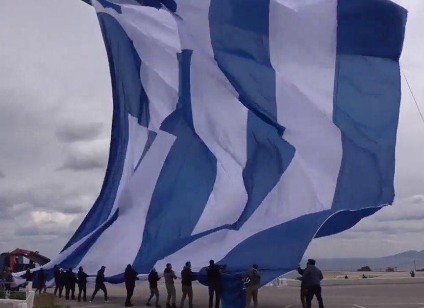 Λίμνη Πλαστήρα: Την Κυριακή υψώνεται με αερόστατο η μεγαλύτερη Ελληνική σημαία του κόσμου