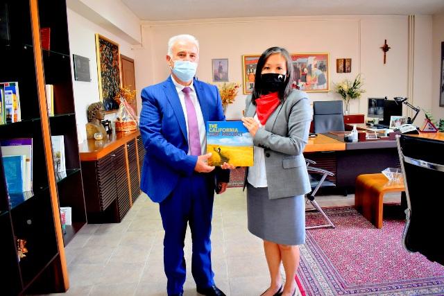 Φλώρινα: Επίσκεψη της Γενικού Προξένου των Η.Π.Α. στη Θεσσαλονίκη Elizabeth K. Lee