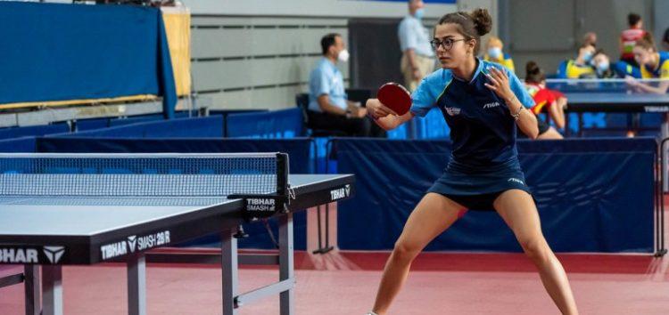 Φλώρινα: Επιτυχημένη η συμμετοχή της Φωτιάδου στο Πανευρωπαϊκό Νέων Επιτραπέζιας Αντισφαίρισης