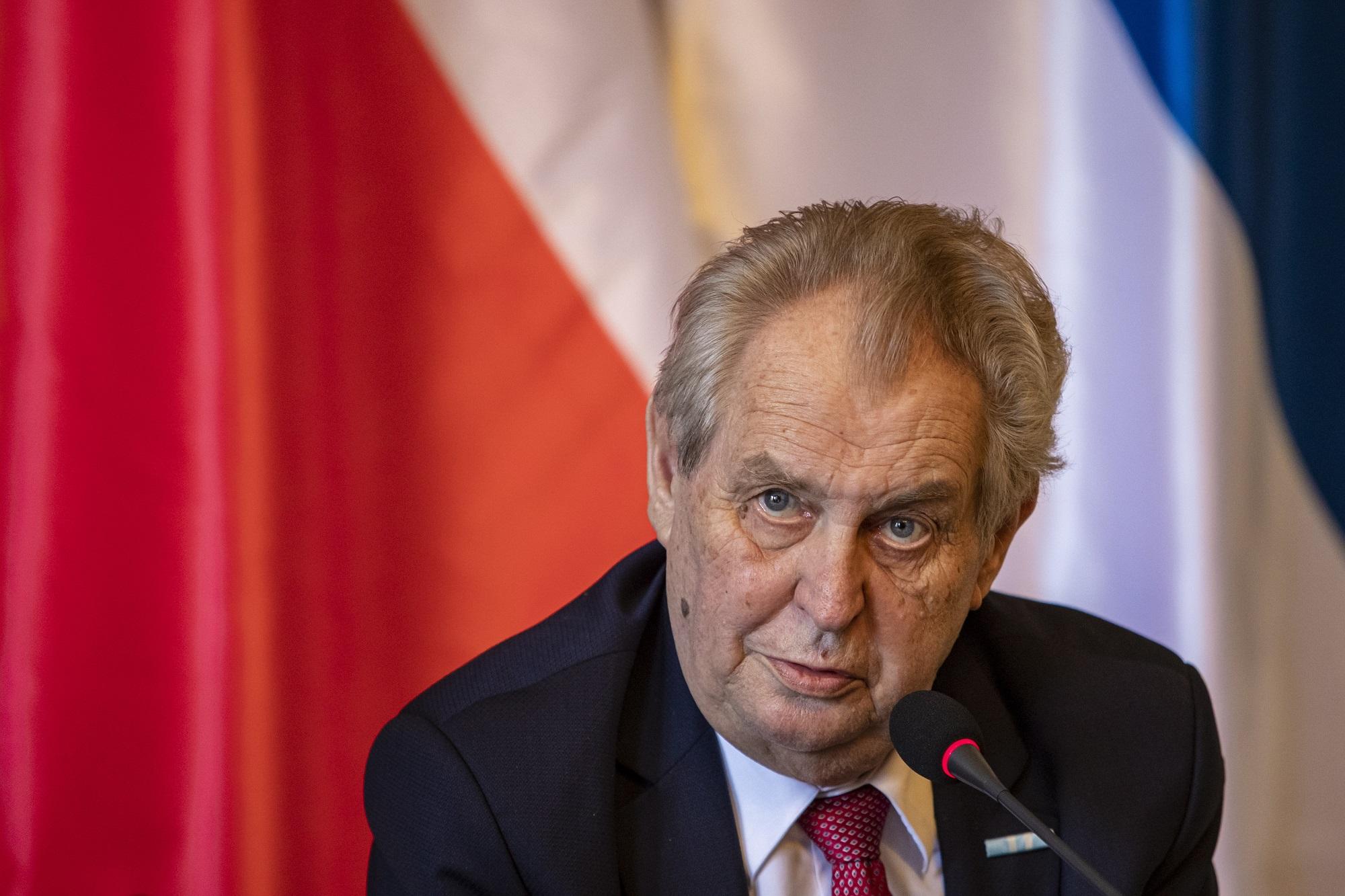 Τσεχία: Σε νοσοκομείο εισήχθη ο πρόεδρος Ζέμαν - ertnews.gr