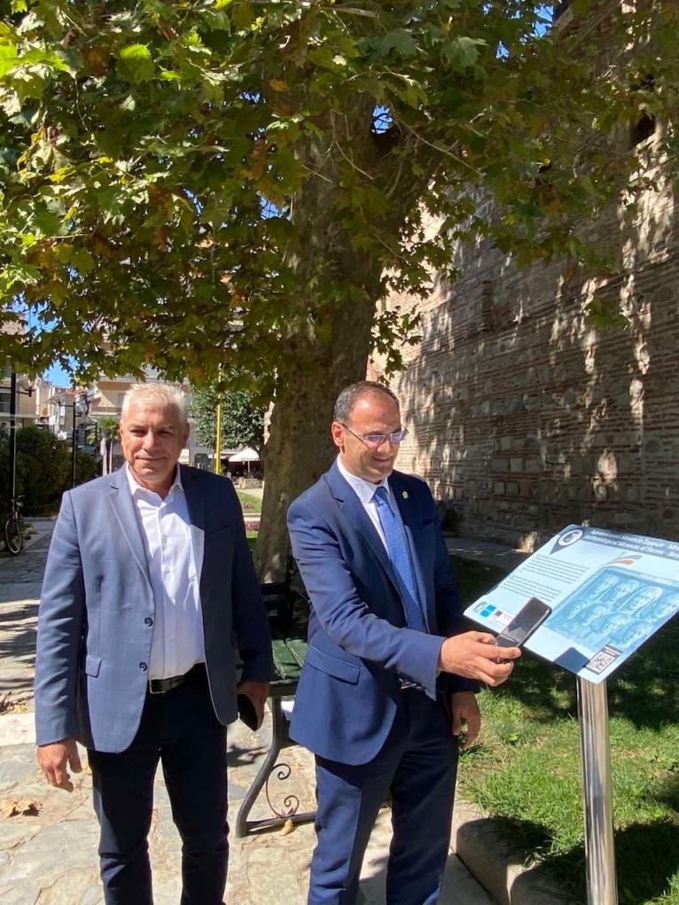 Έξυπνες πινακίδες σε τοπόσημα και μνημεία του Δήμου Σερρών
