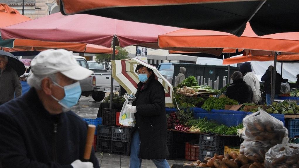 Δραστηριοποίηση των πωλητών (παραγωγών - επαγγελματιών διατροφικών - βιομηχανικών προϊόντων ) λαϊκής αγοράς του Δήμου Αμυνταίου